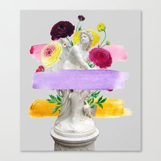 The Witch in the Museum Canvas Print