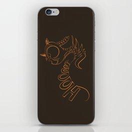 Hoot iPhone Skin