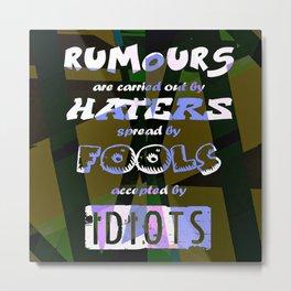 Rumours Metal Print