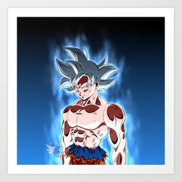 Ultra instinct Art Print