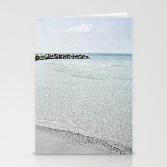 sea square IX Stationery Cards