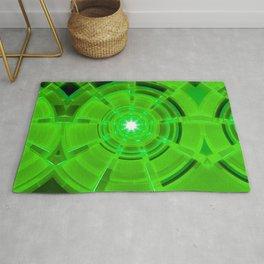 Green Scope Rug