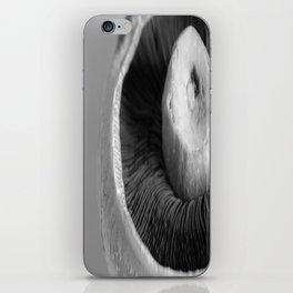 A Mushroom Portrait iPhone Skin