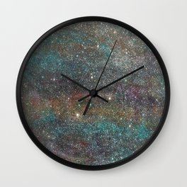 Explosive Blessings Wall Clock