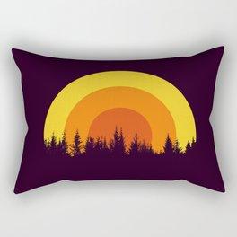 summer mountain Rectangular Pillow