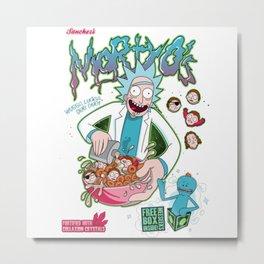 rick and morty3 Metal Print