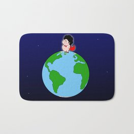 Taking over the world Bath Mat