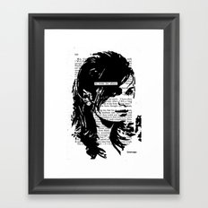 He Broke the Silence Framed Art Print