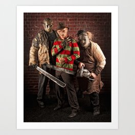 lady killers Art Print