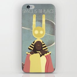 SUN RA: SPACE IS THE PLACE iPhone Skin