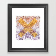rage Framed Art Print