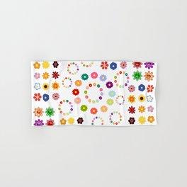 Many Flowers Hand & Bath Towel