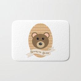 Señor Bear Bath Mat