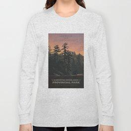 Kawartha Highlands Provincial Park Long Sleeve T-shirt