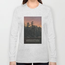Kawartha Highlands Provincial Park Long Sleeve T-shirt