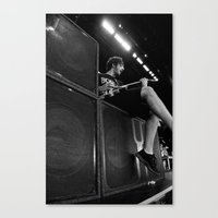 all time low Canvas Prints featuring All Time Low - BONER by NeoStar Studios