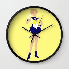 Sailor Uranus (Yellow) Wall Clock