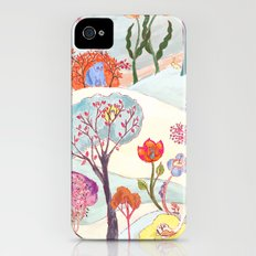Garden Party - Print iPhone (4, 4s) Slim Case