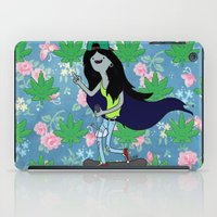 marceline iPad Cases featuring Marceline, The Pothead Queen by ArtPharaoh