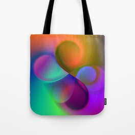 color whirl -9- Tote Bag
