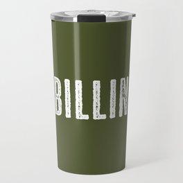 Deer: Billings, Montana Travel Mug