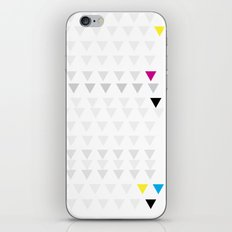 Poster Triangles iPhone & iPod Skin