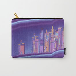 Saturnian Ultraviolet Wave Two Carry-All Pouch