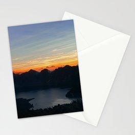 Sunrise at Rinjani Stationery Cards