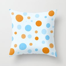 Something Fishy Bubbles Throw Pillow