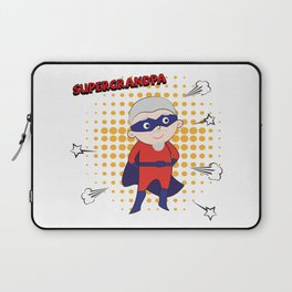 Super Grandpa Laptop Sleeve