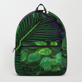 Panther in Jungle Backpack