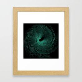 Retro Spiro Framed Art Print