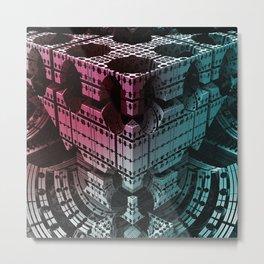 fractal structures -5- Metal Print