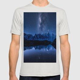Night mountains T-shirt