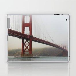 Golden Gate Fog Laptop & iPad Skin