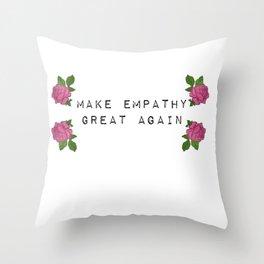 EMPATHY Throw Pillow