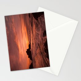 Pacific Sunset. Stationery Cards