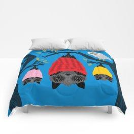 Bats in Blankets Comforters