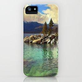 Sand Harbor Lake Tahoe II iPhone Case