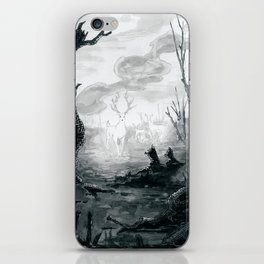 The Spirit Lives On iPhone Skin