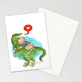 Jurassic World Hug Stationery Cards