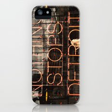 Nothing Stops Detroit Slim Case iPhone (5, 5s)