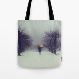 Trapped in Wonderland Tote Bag