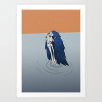 marceline Art Prints featuring Marceline by Tipitina