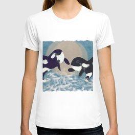 Whale dance T-shirt