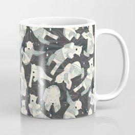 arctic polar bears charcoal Coffee Mug
