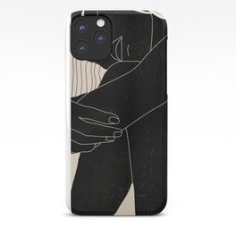 Abstract Art Nude Woman 5 iPhone Case