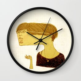 Shameless Wall Clock