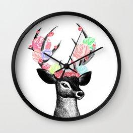 deer mici Wall Clock