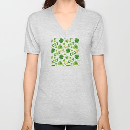 St. Patrick's Day EXTRA IRISH LUCK! Unisex V-Neck